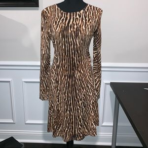 NWOT Michael Kors Long Sleeve Dress M